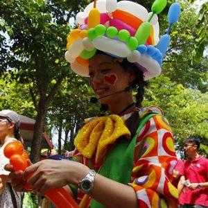 1表演~小丑氣球3
