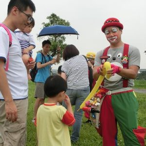 1表演~小丑氣球6